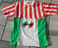 vintage PUMA STARS TEE t-SHIRT SIZE taille M colors ITALIA couleurs de L'ITALIE