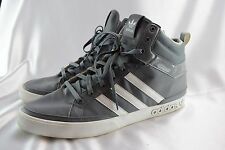 Adidas Top Court Retro Basketball Sneakers Medium Grey White Mens Size 14 NICE
