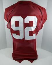 2009-15 Alabama Crimson Tide #92 Game Used Red Jersey BAMA00327
