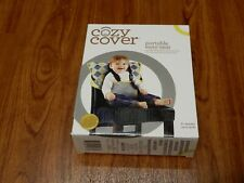 New Cozy Cover Portable Easy Seat 6+ Mo Up to 35 lb Charcoal Yellow 705260004361