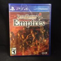 Samurai Warriors 4: Empires (Sony PlayStation 4, 2016) BRAND NEW