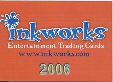 Inkworks San Diego Exclusive Promo Card 2006 INK-2006