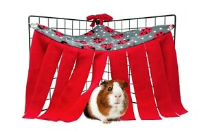 Guinea Pig and Small Animals Corner fleece forest