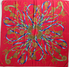 -Superbe Foulard  CODELLO 100% Polyester  TBEG  vintage 90 x 90 cm