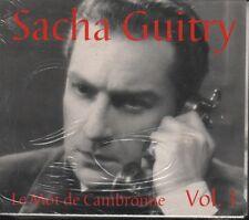 Sacha Guitry Le Mot de Cambronne Volume 1 audio book CD 2 disc set NEW SEALED