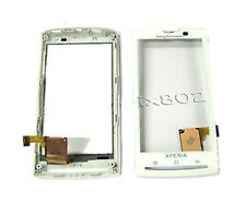 Sony Ericsson Xperia X10 X10i Front Touch Screen Digitizer Frame Bezel White UK