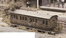 Ratio 501 Small Grounded Coach Body Area 115 x 40mm 00 Gauge Plastic Kit 1stPost