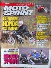 Motosprint 19 1992 Suzuki GSX-R 750 - Honda 125 Raiden - Problemi Cagiva 500