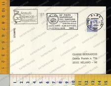 362] TARGHETTA PUBBLICITARIA - ALBA 1983 - 53° FIERA NAZIONALE DEL TARTUFO