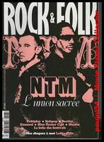 """ROCK & FOLK  #493 """"NTM, Coldplay, Subpop, Beatles, Damned, Blue Oyster Cult,Wire"""