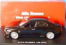 ALFA ROMEO 156 GTA BLACK 3.7 2002 M4 1/43 ITALIE NOIRE