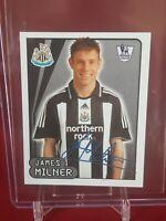 James Milner Newcastle United Liverpool Premier League 2008 Merlin Topps Sticker