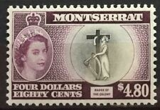 1958 Montseratt Qeii Mlh Scott # 149