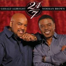 24/7 by Gerald Albright/Norman Brown (Guitar) (CD, Jun-2012, Concord Music...