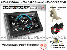 Edge Insight CTS2 Package 03-09 Dodge Ram with pillar mount and probe