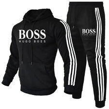 2Pic Herren Jogging Anzug Hoodies Sweatshirt Hosen Trainingsanzug Sportanzug 3XL