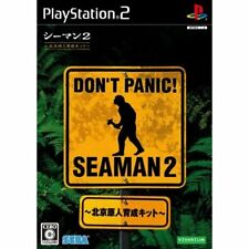 Used PS2 Seaman 2: Peking Genjin Ikusei Kit w/Microphone Japan Import