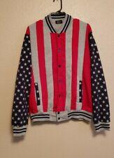 American Flag varsity Jacket Size XL
