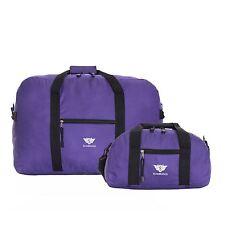 Slimbridge Ryanair Set of 2 Cabin Bags Purple 55 X 40 X 20 Cm and 35 X 20 X 20