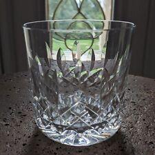"Waterford Crystal Lismore Old Fashioned Ireland 9 oz 3 1/4"" Rocks Glass Tumbler"