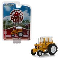 GREENLIGHT 48010D 1988 Ford 5610 Tractor - Yellow and White Diecast Model 1:64