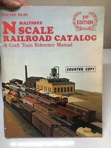 1st Edition N Scale Walthers Model Railroad Catalog