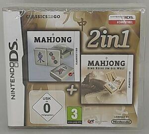2 in 1: Mahjong / Mahjong: Eine Reise um die Welt (Nintendo DS, 2007) NEU&OVP
