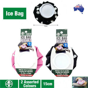 Screw Cap Reusable Ice Bag First Aid No Drips No Leaks Stay Cool For Hours
