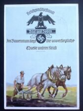 German Third Reich 5th National Agricultural Producers Exhibition 4/6/39 Leipzig