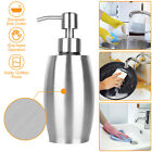 Stainless Steel Hand Soap Lotion Press Pump Dispenser for Kitchen Bathroom Wash photo