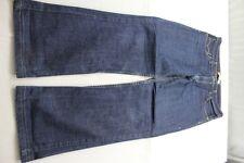 H6834 Levi 's 627 straight fit 0002 Jeans w34 l34 bleu foncé bien