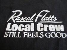 """Rascal Flatts Local Crew """"Still Feel Good"""" Concert Tour (Xl) T-Shirt"""