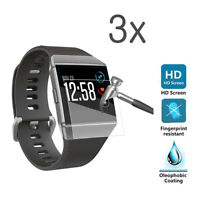 TPU Anti-Scratch Tempered Glass Screen Protector Film For Fitbit Ionic Watch USA