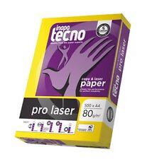 Kopierpapier A4 PRO LASER 80g 5.000 Blatt Premium Druckerpapier von Inapa