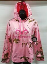 WOMENS REALTREE HOODED SWEATSHIRT PINK CAMOUFLAGE SM (4-6) NWT * FREE SHIPPING