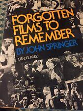 Forgotten Films To Remember