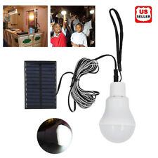 1pcs Solar Panel Powered LED Bulb Lamp Portable Camp Tent Fishing Light Outdoor