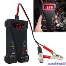 DC12V Portable Car LED Digital Battery Tester Voltmeter&Charging System Analyzer