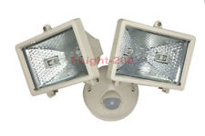 Premium Flood Light With Dual-Lamp Swivel Type Motion Sensor For Driveway Garage