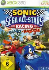 Xbox 360 Sonic Sega All Stars Racing Top Zustand