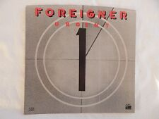 """FOREIGNER """"URGENT"""" PICTURE SLEEVE! BRAND NEW! ONLY NEW COPY ON eBAY!"""