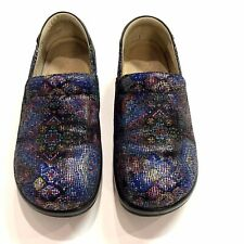 ALEGRIA Keli By PC Lite Multicolored Leather Slip On Shoes-Woman's  37-US 7-7.5