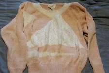 Vintage angora sweater M (has shoulder pads )