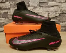 Nike Mens Mercurial FG Victory V Cr7 Football Boots Size UK 9 Silver