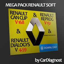 Renault Can Clip V169 & Reprog V151 & Dialogys V4.59 & Renault Pin Extractor