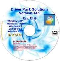 Auto update PC drivers in mins v14.9 32/64 bit Windows XP Vista 7 8 & 8.1 DVD DL