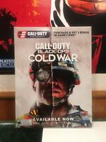 Call Of Duty Cold War Display Box Call Of Duty Video Game Poster