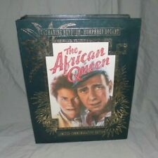 African Queen Limited Commemorative Edition Box Set w/ VHS Tape & 8 Lobby Cards