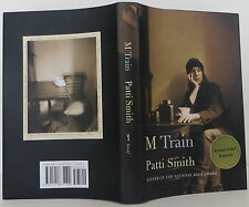 PATTI SMITH M Train SIGNED FIRST EDITION