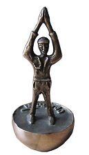 Bronze Figur Skulptur Optimist Bronze sculpture figure sculpture Optimist